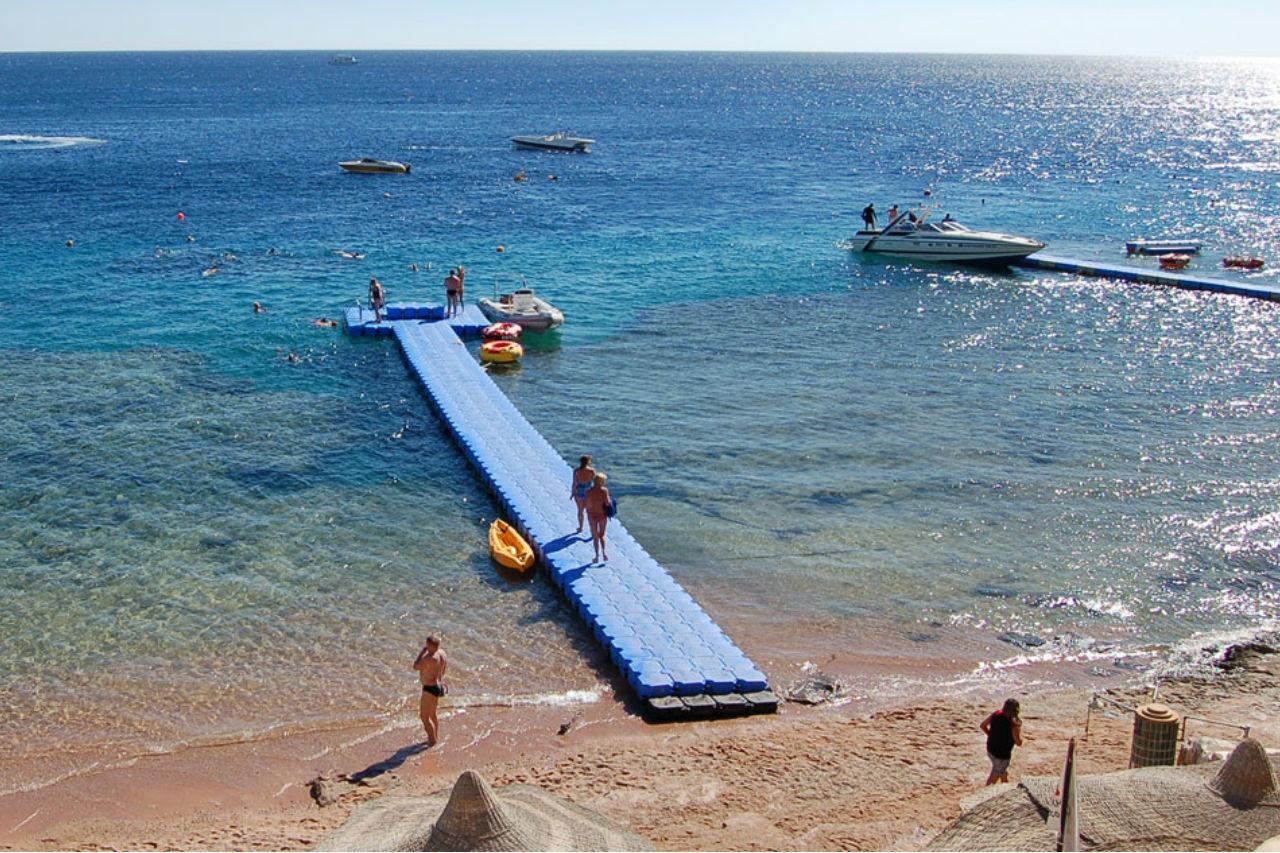 Strand på Sharm el Sheik fra Amisol