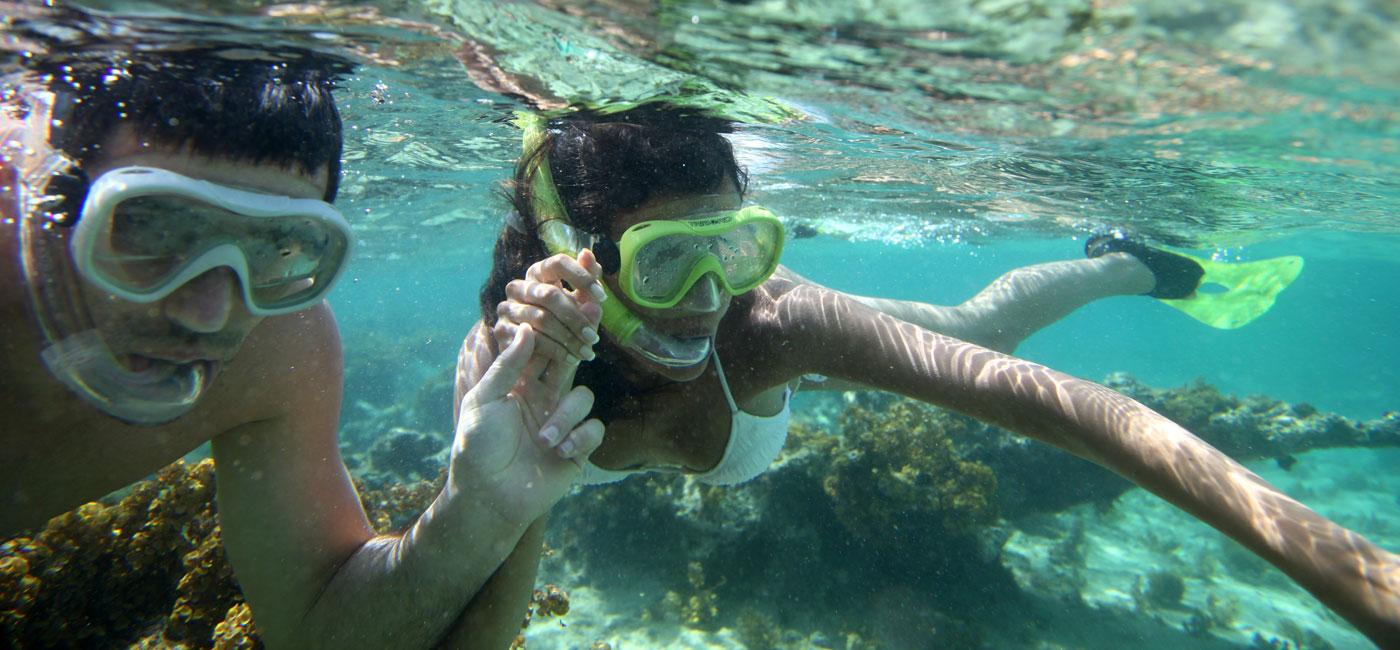 Dykking i Sharm el Sheikh er en fin paraktivitet